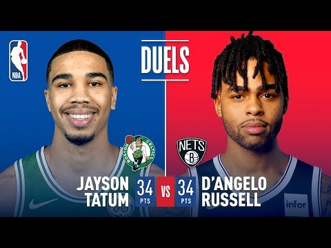 D'Angelo Russell & Jayson Tatum Both Go For 34 Points | January 14, 2019