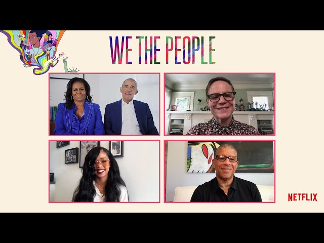 WE THE PEOPLE Conversation with President Barack Obama and Michelle Obama | Netflix
