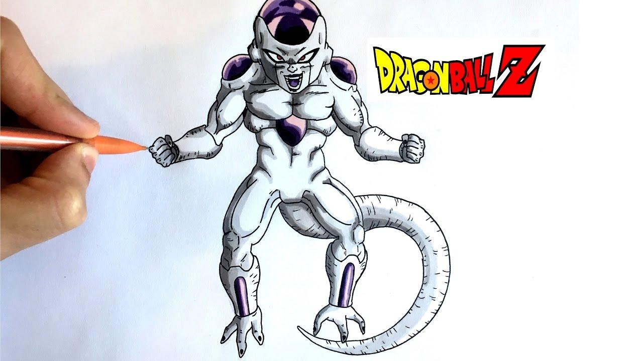 Dessin Freezer Dragon Ball Z Youtube