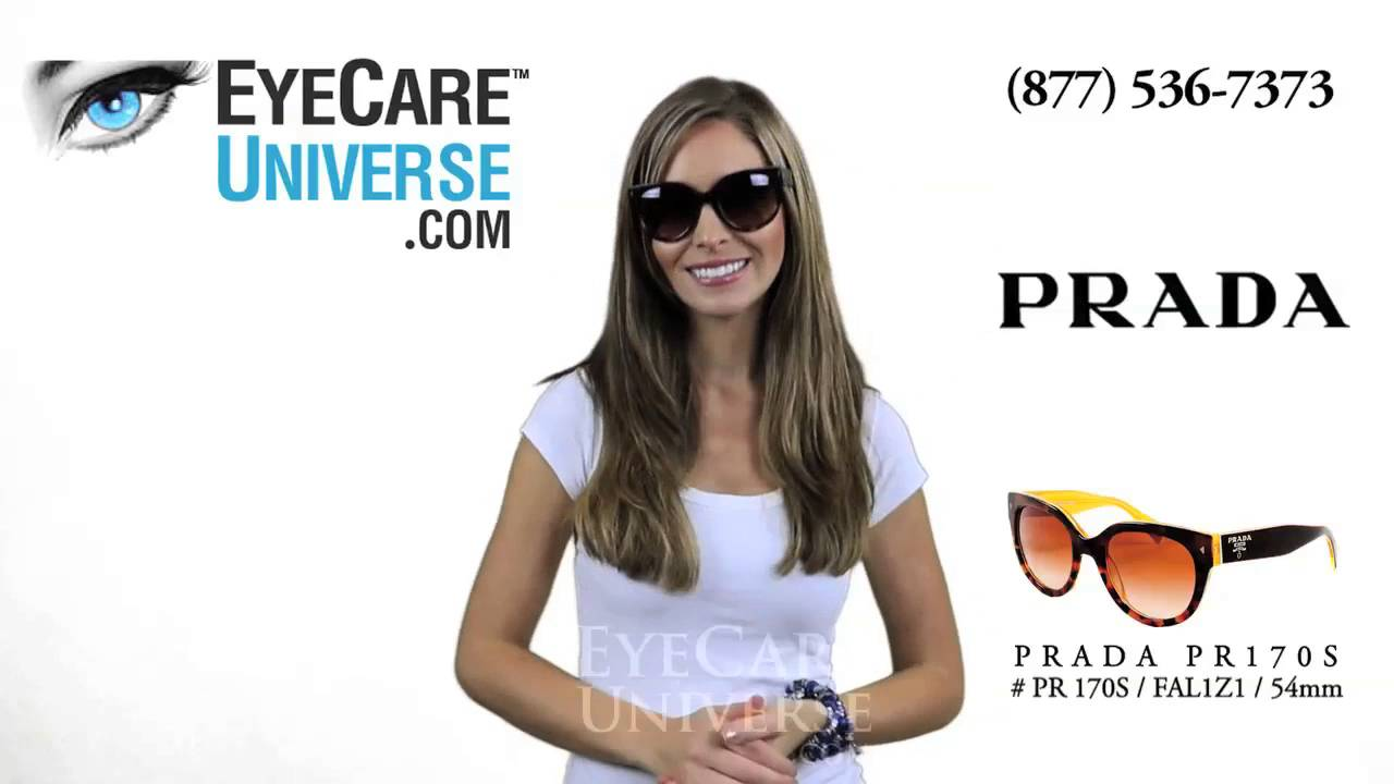 6d2e4ff66d389 Prada Sunglasses PR 17OS 54mm FAL1Z1 Detailed Review - YouTube