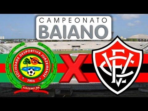 Juazeirense x Vitoria - 10/04/2016 | Semifinal do Campeonato Baiano 2016  [PES 2016] - YouTube