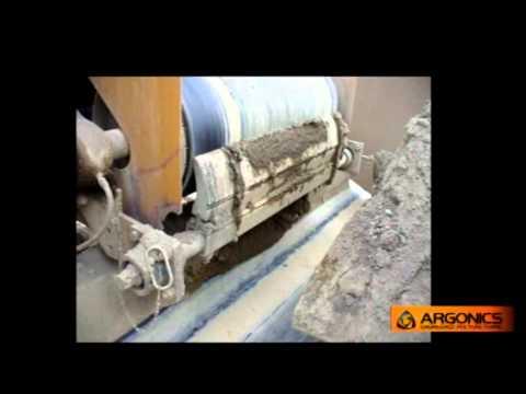 Eraser Conveyor Belt Cleaner Demo