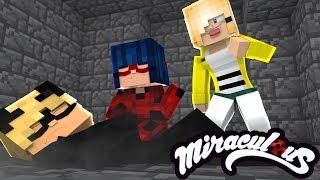 Minecraft: O CAT NOIR DESMAIOU! E AGORA? - MIRACULOUS AS AVENTURAS DE LADYBUG #31