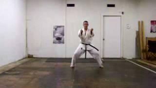 Jiin II kata karate shotokan Martin Silva