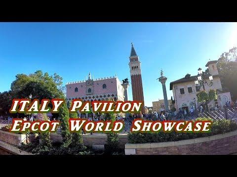 ITALY PAVILION EPCOT WORLD SHOWCASE | DISNEY WORLD FLORIDA