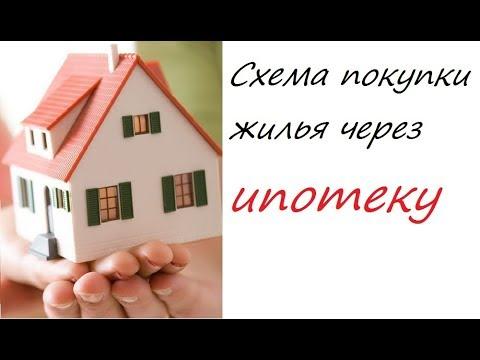 Схема покупки вторичного жилья через ипотеку