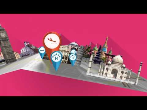 Magical Island Tour Vacation (Motion Graphic Animation)