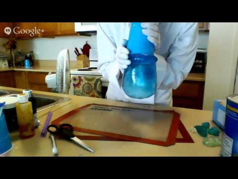 Isomalt Fish Bowl Live Tutorial with Jessica Cruz Abstract Edible Arts!