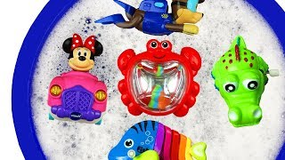 Animals and Character Toys - Baby Find Mom for Kids - Learn Colors with Educational Video