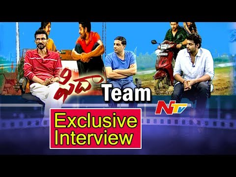 Fidaa Movie Team Exclusive Interview || Varun Tej, Sai Pallavi, Sekhar Kammula || NTV