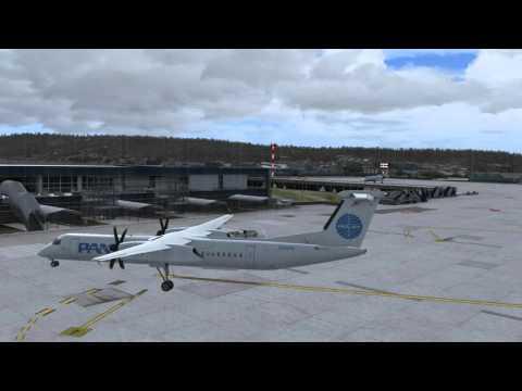 Majestic DHC-8 Q400 Pro - Round-The-World Pt 21. Split-Zagreb 4K