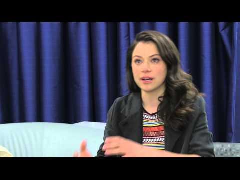 Tatiana Maslany tears up explaining why she's an LGBT ally
