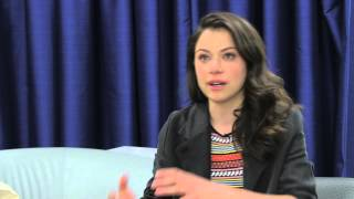 Tatiana Maslany tears up explaining why she's an LGBT ally