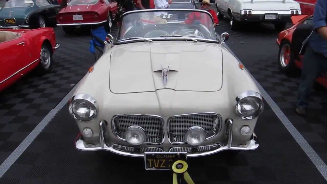 Concours D Elegance >> 1958 FIAT 1200 TV Spider on Beverly Hills Concours d'Elegance 2013 - YouTube
