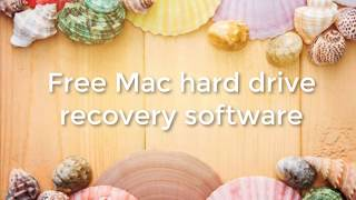 Free Mac hard drive data recovery software