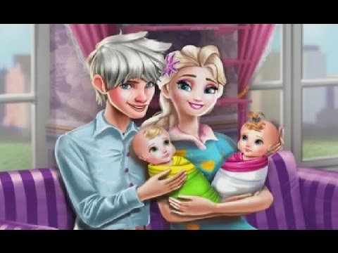 Elsa And Jack Frost Have A Baby Twins Disney Frozen