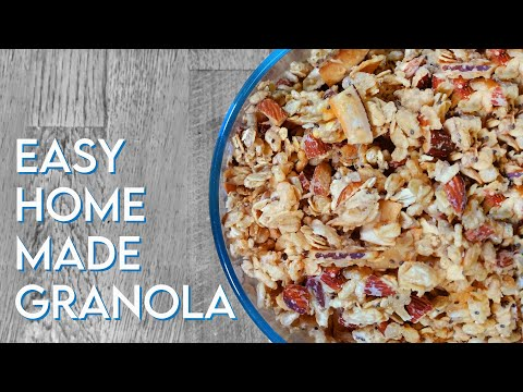 HOMEMADE GRANOLA Coconut, Almond & Chia