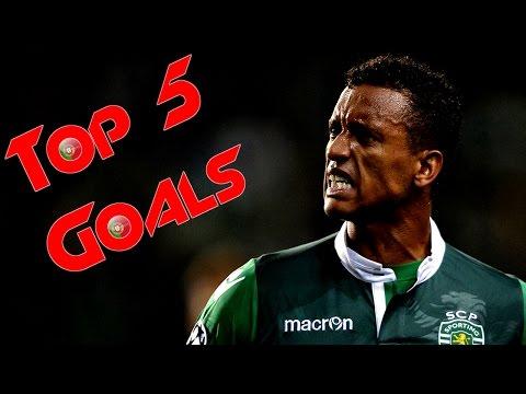 Nani | Top 5 Goals | (HD)