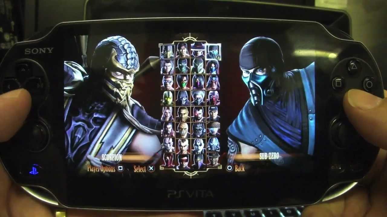 PS Vita Mortal Kombat Alternate Fatalities & Costumes