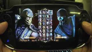 PS Vita Mortal Kombat Alternate Fatalities & Costumes