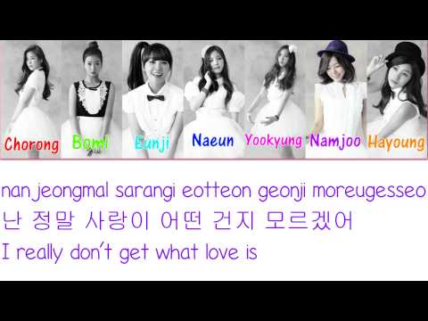 Apink - My My Lyrics (Romanization/Hangul/English) Color Coded