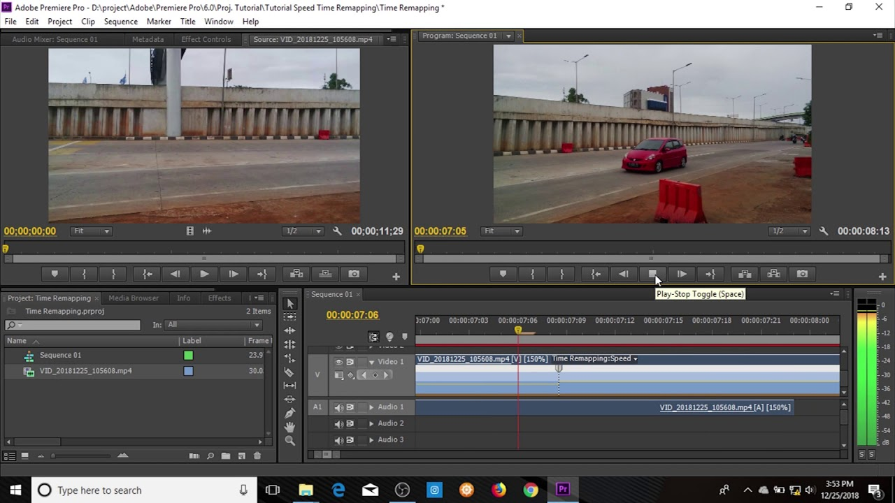 Time remapping premiere pro plastic vehicle ramps