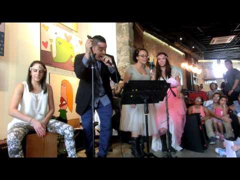 DavidL., con The Frantic Ballerinas - Dime Que Vuelves - en vivo, ft. Monalisa Arias, FreeLatinSoul