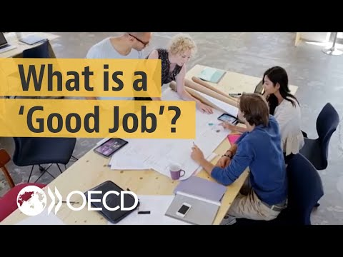 What is a good quality job?