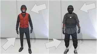 GTA 5 ONLINE *BEST* 2 TRYHARD OUTFITS USING CLOTHING GLITCHES!!