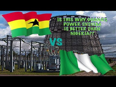 THIS IS WHY GHANA'S ELECTRICITY SYSTEM IS BETTER THAN NIGERIA!!