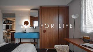 ZEST FOR LIFE   Condominium   Interior design    by Pins studio