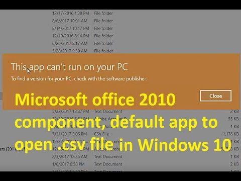 ms office 2010 for windows 10
