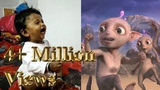 Baby Reaction - Cadbury Dairy Milk Ad - Aliens Dance Funny