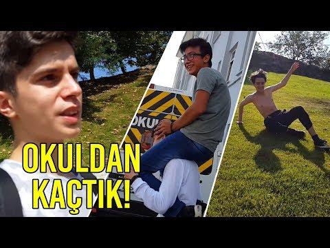 Download Youtube: OKULUN İLK GÜNÜ OKULDAN KAÇTIK! - Gergin Dakikalar