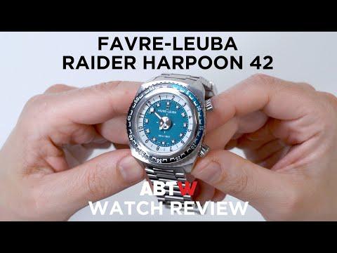 Favre-Leuba Raider Harpoon 42 Watch Review | aBlogtoWatch
