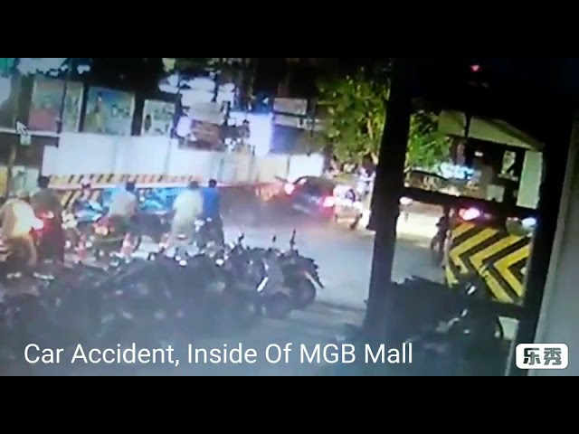 Car Accident At Nellore MGB Felicity Mall, Drunk And Drive | Nellore Rockss |