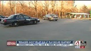 Teens Shot Pellet Gun At Local Park
