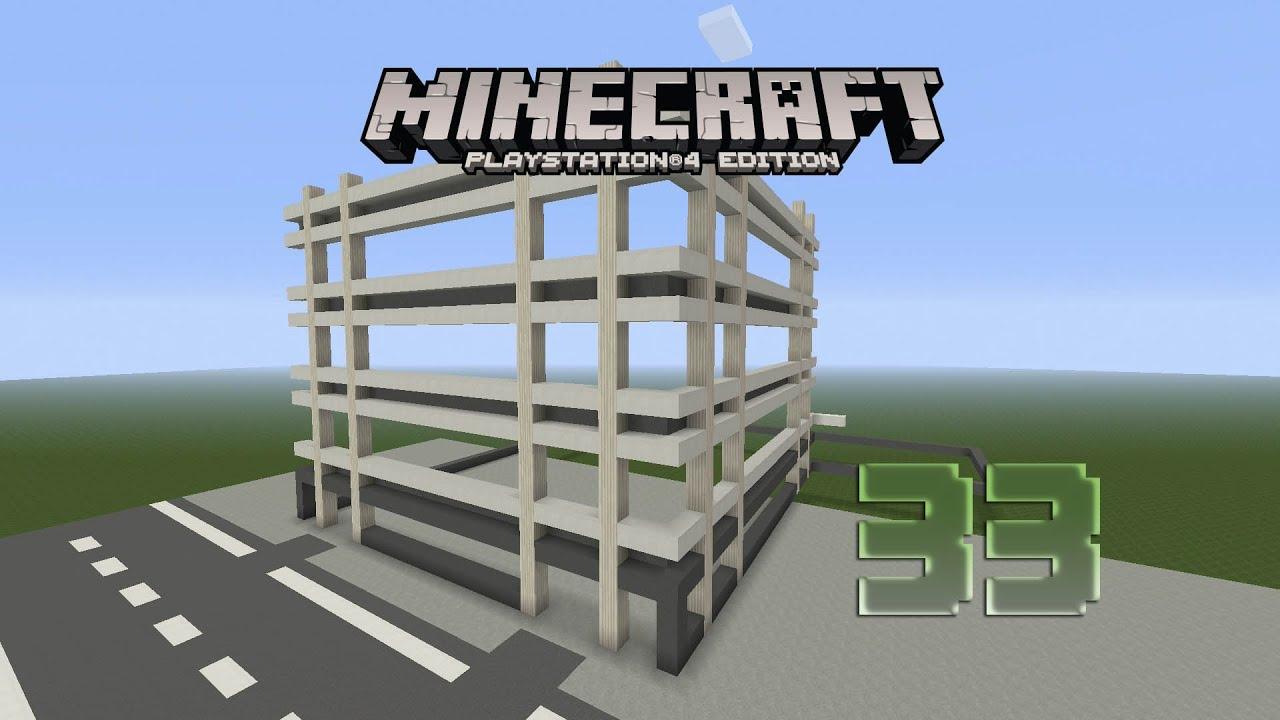 how to make a garage in minecraft ps4