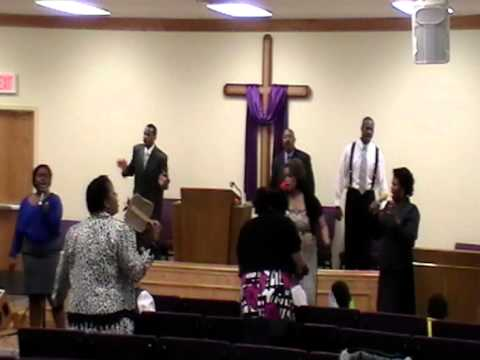 Mt  Zion FWC Praise and Worship Team Bless that Wonderful Name of Jesus 29 Apr 12