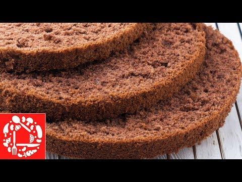 Вопрос: Как приготовить легкий бисквитный торт?