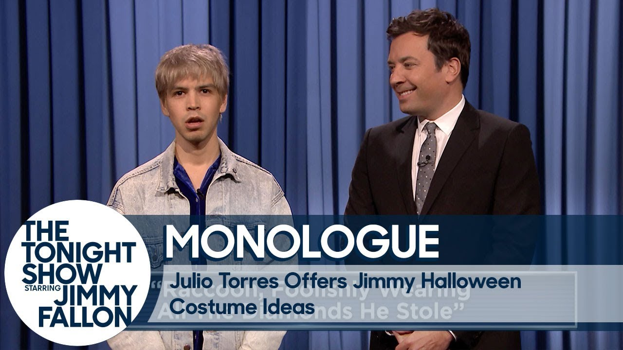 Julio Torres Offers Jimmy Halloween Costume Ideas - YouTube