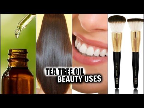 TEA TREE OIL BEAUTY USES! │TREAT ACNE, HAIR GROWTH, BAD BREATH, CLEAN MAKEUP BRUSHES
