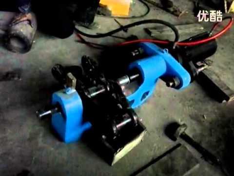 150ton C Type Portable Press Link Machine Youtube