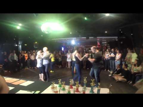 Adelaide's Best Social Dancer Competition Series 2014 - Finals - Salsa Warmup