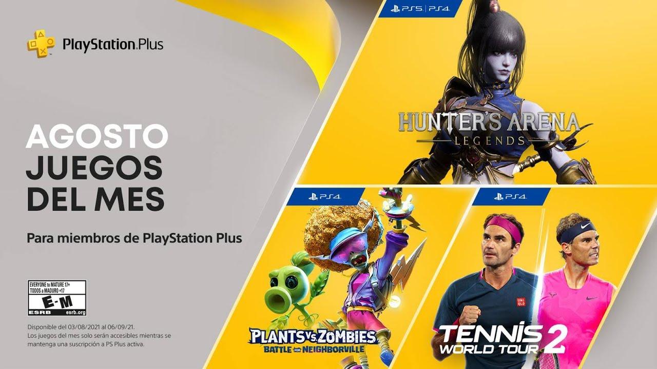 Agosto en PS Plus - Juegos mensuales - PS4 | PS5