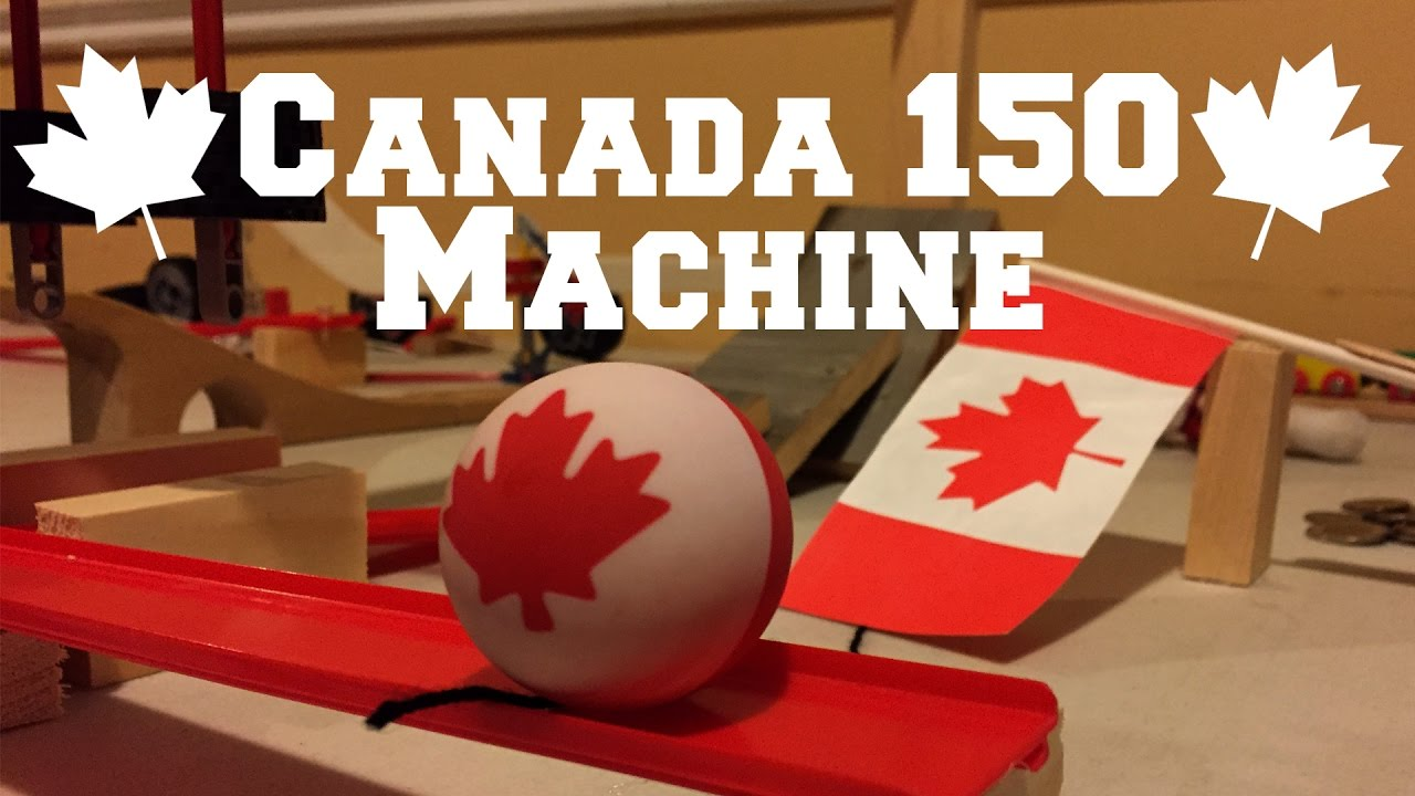 Video of the Week! Canada 150 Machine