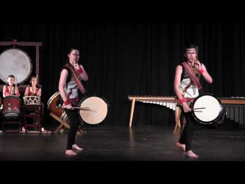 Okedo in en Taiko Concert 2017, da Vinci Middle School, 18JUN