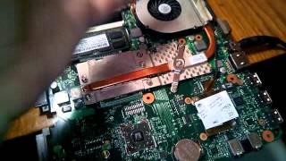видео Ноутбук HP Compaq 615. Не включается, 5 раз моргает Caps Lock