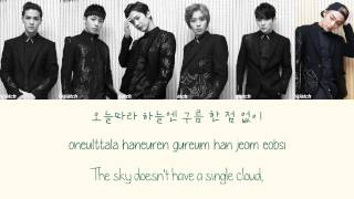 Teen Top - Missing (쉽지않아) {Color coded lyrics Han|Rom|Eng}
