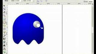 Pac-Man baddies with Inkscape